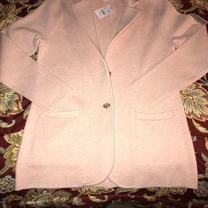 J Crew Sweater Blazer Size M